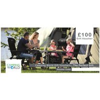 Camping World Gift Vouchers - 100