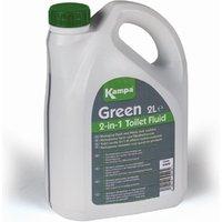 Kampa Green Dual Nature Biological Toilet Fluid - 2L green