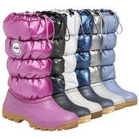 Olang Mina Designer Snow Boots Junior - UK 2.5-3.5 / EU 35-36 - BLACK