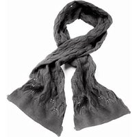 Serious Emily Fine Knit Scarf - DOVE GREY