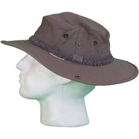 White Rock Classic Outback Hat with Suede Band DARK GREY - 1. SIZE S