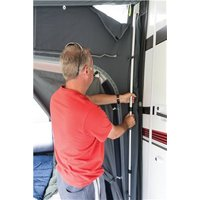 Kampa Rally Rear Upright Pole Set - Deluxe Aluminium