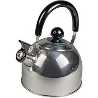 Kampa Polly Stainless Steel Whistling Kettle - Polly Kettle