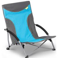 Kampa Sandy High Back Low Chair - Blue