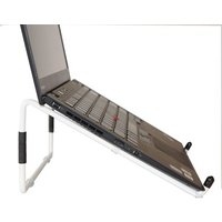 R-Go Tools Steel Travel Laptopstandaard - Wit