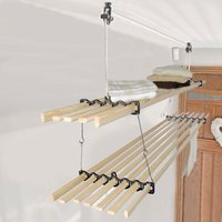 Stacker Gismo Kitchen Maidandreg; Pulley Clothes Dryer