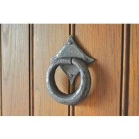 Kirkpatrick A6058 Ring Door Knocker - Argent Finish