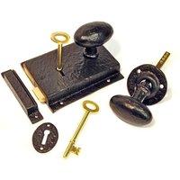 Kirkpatrick 1204 Rustic Rim Lock Set