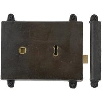 Blacksmith Beeswax Rim Lock and Cast Iron Cover