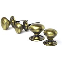 Antique Brass Country Door Knobs