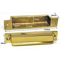 Brass Rim Lock Keep Number 9