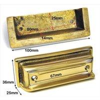 Brass Rim Lock Keep Number 11