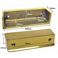 Brass Rim Lock Keep Number 14