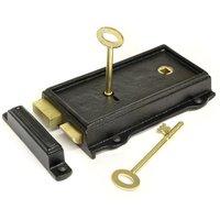 Kirkpatrick S520 Raven Rim Lock Set