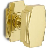 Croft 7013 Art Deco Centre Door Knob
