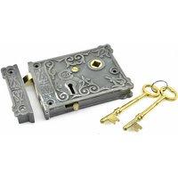 Ornate Rim Lock Set