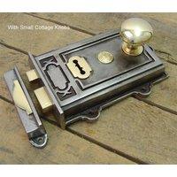 Davenport Cast Iron Rim Lock Set