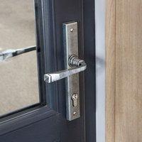 Blacksmith Pewter Patina Slimline Avon Lever Door Handle