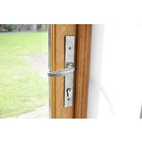 Kirkpatrick 2461 Rydale Lever Patio Door Handle - Pewter Finish