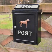 Horse Wall Mounted Post Box