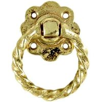 Kirkpatrick Brass Daisy Rope Gate Handle