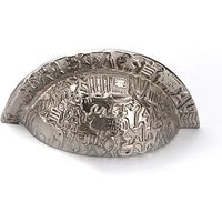 Nickel Aztec Drawer Pull