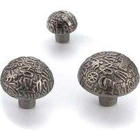 Aztec Iron Cabinet Knob