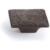 Antique Bronze Pacific Rectangular Knob