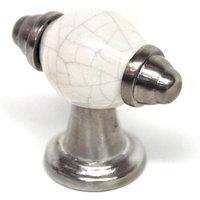 'Grey Porcelain Pandora T Bar Handle
