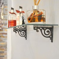 Little Lobe Cast Iron Shelf Bracket