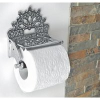 Chrome Victorian Toilet Roll Holder