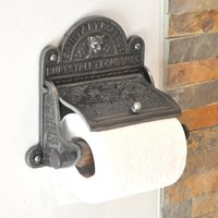 Sanitary Paper Co Toilet Roll Holder - Iron Finish