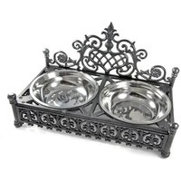 Decorative Dog and Cat Bowl