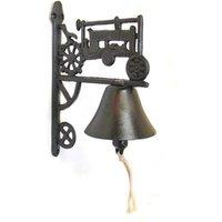 Tractor Garden Bell