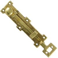 Kirkpatrick 1155 Brass Tudor Door Bolt