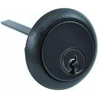Kirkpatrick 5142 Front Door Rim Cylinder Lock - Black