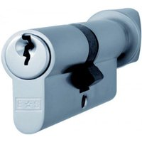Thumb turn Euro Cylinder Lock - Polished Chrome