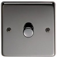 Black Nickel Single Dimmer Switch - 800w