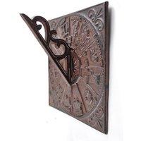 Cast Iron Sundial - Wall Mounted