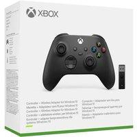 Manette Xbox nouvelle génération avec adaptateur sans fil Windows 10 Black