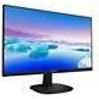PHILIPS 243V7QJABF/00 Ecran d'ordinateur FHD UWC 24 pouces Dalle IPS 5ms 75Hz HDMI/DP/VGA FreeSync