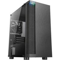 ABKONCORE BOITIER PC C450M Black Verre trempé Format ATX (ABKO C 450M G)