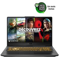 PC Portable Gamer ASUS F17 TUF766HM HX008T 173 FHD 144Hz i9 11900H RAM 16Go SSD 512Go RTX 3060 6 Go Windows 10 AZERTY