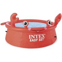 Intex piscinette autoportante ronde crabe (ø)1,83 x (h)0,51m