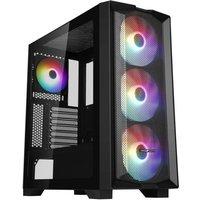 ABKONCORE H450X Boitier PC Sans Moyen tour Format ATX Black (ABKO H 450X G)