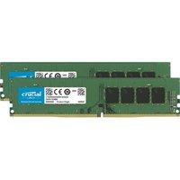 CRUCIAL Mémoire PC DDR4 32Go (2x16Go) 2666 MHz CAS 19 (CT2K16G4DFD8266)