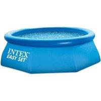 INTEX Kit piscine ronde autoportée Easy Set - Ø243 x 76 cm