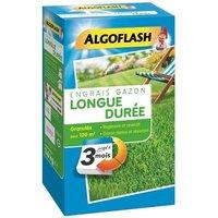 ALGOFLASH Engrais Gazon Longue durée 3 mois - 3,6kg