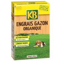 KB Engrais gazon organique Bio - 100 m²