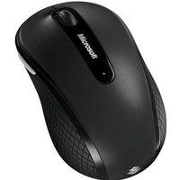 MICROSOFT Mobile Mouse 4000 Souris optique 4 boutons Sans fil Récepteur USB Graphite